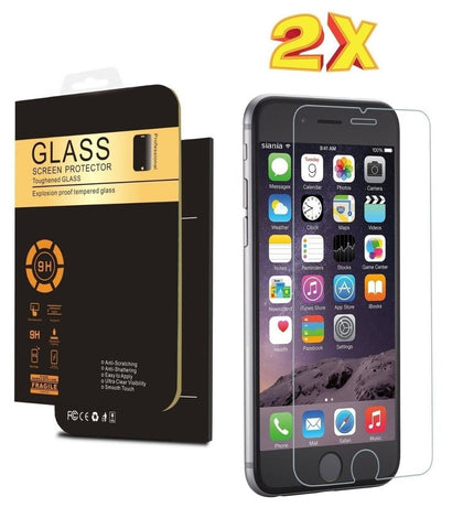 (2 Pack) IPhone 6s Screen Protector Premium Tempered Glass 9H Anti Scratch Cr... - Chickadee Solutions - 1