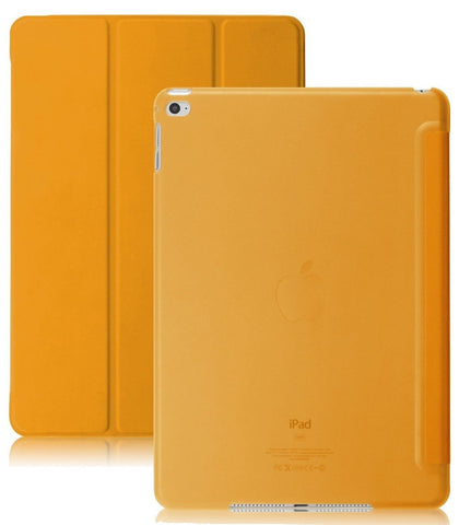iPad Air 2 Case (iPad 6) - KHOMO DUAL Super Slim Orange Cover with with See T... - Chickadee Solutions - 1