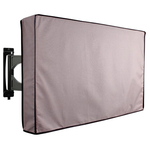 Outdoor TV Cover Grey Weatherproof Universal Protector for 40'' - 42'' LCD LE... - Chickadee Solutions - 1