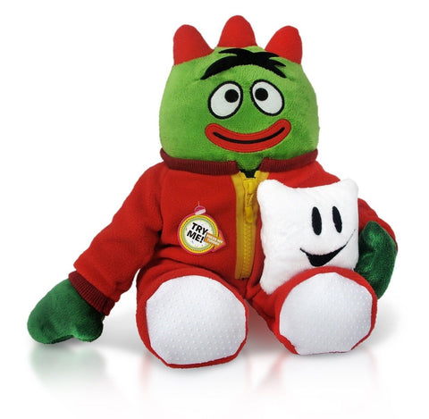 YO GABBA GABBA Brobee Light-Up Plush - Chickadee Solutions
