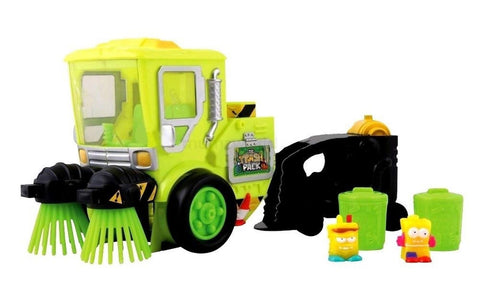 Trash Pack Glow in the Dark Street Sweeper - Chickadee Solutions - 1
