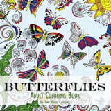 Adult Coloring Book: Butterflies - Chickadee Solutions - 1