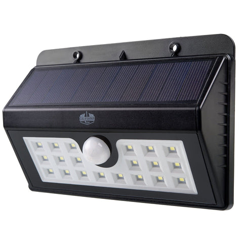 California Basics 20 LED Solar Powered Motion Sensor Wall Flood Light for Out... - Chickadee Solutions - 1