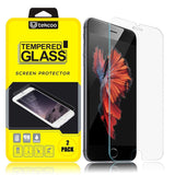 iPhone 6S Screen Protector 2-Pack Tekcoo iPhone 6 / iPhone 6S (4.7 inch) Prem... - Chickadee Solutions - 1