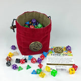 Third Die Dice Bag - Celtic Medal Series - Handcrafted Reversible Dice Bag-St... - Chickadee Solutions - 1