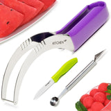 Watermelon Slicer Complete Bundle - Best Melon Slicer Corer & Server - Strong... - Chickadee Solutions - 1