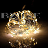 BZONE Battery Operated Warm White LED Rope Light Mini LED String Light Copper... - Chickadee Solutions - 1