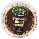 Green Mountain Coffee Decaf Breakfast Blend (Light Roast Coffee) K-Cup Porti... - Chickadee Solutions - 1