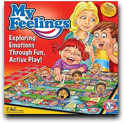 My Feelings Game Educational board game to explore emotions through fun play!... - Chickadee Solutions - 1