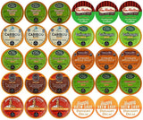 30-count TOP BRAND DECAF COFFEE K-Cup Variety Sampler Pack Single-Serve Cups ... - Chickadee Solutions