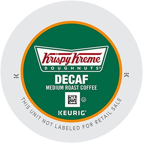Krispy Kreme Doughnuts Decaf K-Cup Portion Pack for Keurig Brewers 24 Count - Chickadee Solutions - 1