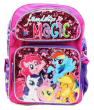 New My Little Pony Friendships Is Magic Large Backpack-36370 - Chickadee Solutions - 1