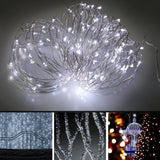 Solar String LightsEonfine Outdoor String Lights on Flexible Copper Wire 72ft... - Chickadee Solutions - 1
