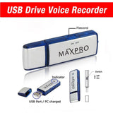 Maxpro Recorder Voice Audio Digital USB Flash Drive Memory Stick 8gb Pendrive... - Chickadee Solutions - 1