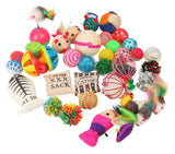 Fashion's Talk Cat toys Variety Pack for Kitty 20 pieces - Chickadee Solutions - 1