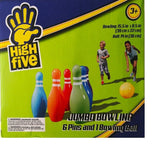 High Five Inflatable jumbo Bowling 15.5 in x 8.5 in...ball: 14 in. - Chickadee Solutions - 1