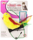 Ethical A-Door-Able Plush Bird Cat Toy with Feathers - Chickadee Solutions - 1