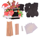 YGDZ Photo Booth Props DIY Kit for Christmas Photobooth Dress-up Accessories ... - Chickadee Solutions - 1