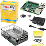 CanaKit Raspberry Pi 3 Kit with Clear Case and 2.5A Power Supply - Chickadee Solutions - 1