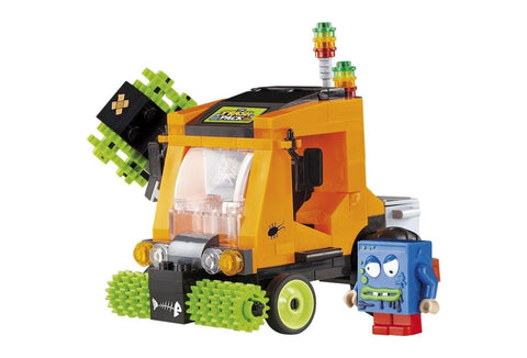 COBI The Trash Pack Crazy Street Sweeper Building Kit - Chickadee Solutions - 1