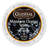Celestial Seasonings Mandarin Orange Spice Herbal Tea K-Cup Portion Pack for ... - Chickadee Solutions - 1