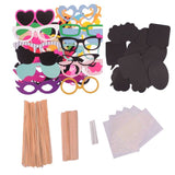 YGDZ Photo Booth Props DIY Kit for Photobooth Dress-up Accessories & Party Fa... - Chickadee Solutions - 1