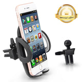 Phone Holder - Teletrogy Universal Adjustable Air Vent Car Phone Holder Cradl... - Chickadee Solutions - 1