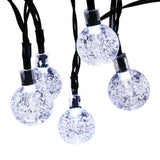 Qedertek Globe Solar String Lights 19.7ft 30 LED Fairy Lights Outdoor Solar L... - Chickadee Solutions - 1
