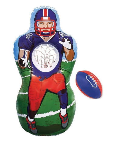 KOVOT Inflatable Football Target Set - Inflates to 5 Feet Tall! - Soft Mini F... - Chickadee Solutions - 1