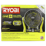 Ryobi 18-Volt/120-Volt One Plus Hybrid Fan [Bare Tool Only] - Chickadee Solutions - 1