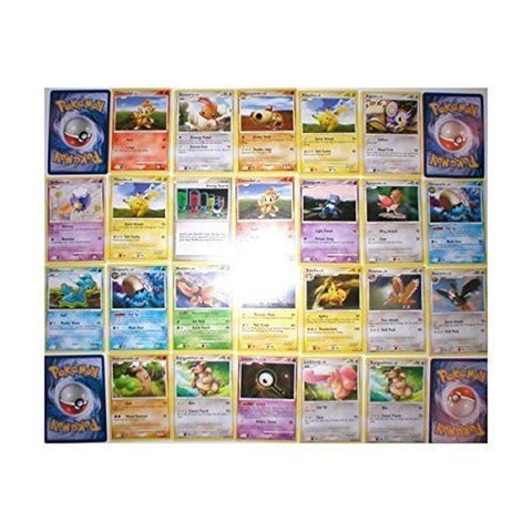Pokemon Center 110 Bulk Collectible Pokemon Cards Party Favors - Chickadee Solutions