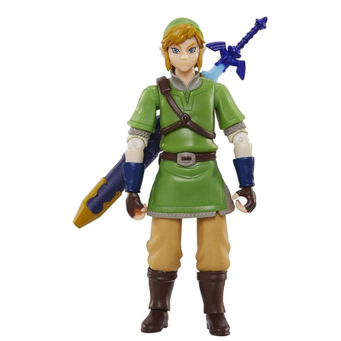 World of Nintendo Legend of Zelda: Skyward Sword Link Action Figure 4 Inches - Chickadee Solutions - 1