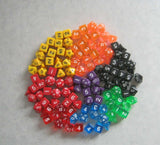 6x Sets of 10 Polyhedral Dice: Half a Pound of RPG / D&D Dice! - Chickadee Solutions - 1
