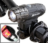 Super Bright USB Rechargeable Bike Light - Blitzu Gator 320 POWERFUL Bicycle ... - Chickadee Solutions - 1