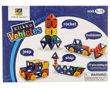 Klikko Vehicles: Educational Building Toy (137 pieces) with Activities to Lea... - Chickadee Solutions - 1
