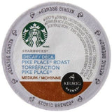 Starbucks Decaf Pike Place Roast K-Cup for Keurig Brewers 24 Count - Chickadee Solutions - 1