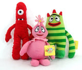 "Yo Gabba Gabba 13"" Plush Set Includes Brobee Muno and Foofa [Toy] - Chickadee Solutions - 1"