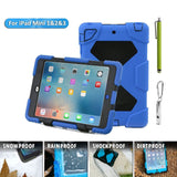 Aceguarder case with standfor iPad Mini 123 - Carabiner + whistle + handwritt... - Chickadee Solutions - 1