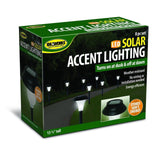 Ideaworks JB5629 Solar-Powered LED Accent Light Set of 8 Black - Chickadee Solutions - 1