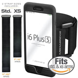 Armband for iPhone 6S Plus / 6 Plus ( Black ) - Includes Standard Strap To Fi... - Chickadee Solutions - 1