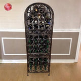 Wine Enthusiast Renaissance Wrought Iron Wine Jail - Chickadee Solutions