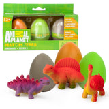 Animal Planet Grow Eggs- Dinosaur- Hatch and Grow Three Different Super-Sized... - Chickadee Solutions - 1