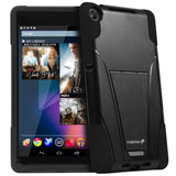 Fosmon HYBO-V Detachable Hybrid TPU + PC Kickstand Case for Google Nexus 7 FH... - Chickadee Solutions - 1