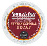 Green Mountain Coffee Newman's Special Decaf K-Cup Portion Pack for Keurig K... - Chickadee Solutions - 1