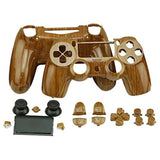 YTTL Hydro-Dipped Woodgrain Custom Controller Shell for PlayStation 4 PS4 con... - Chickadee Solutions - 1