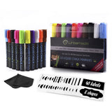 Urbamade Liquid Chalk Markers Set (10 Pens) - Non Toxic Water Based Art Suppl... - Chickadee Solutions - 1