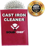Solid Chef Cast Iron Cleaner - Chickadee Solutions - 1