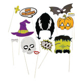 Halloween Stick Photo Booth Props (1 Dozen) - Chickadee Solutions - 1
