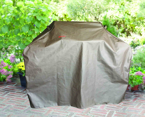 "BBQ Coverpro - Waterproof BBQ Grill Cover (55x22x46"") Brown For Weber Holland... - Chickadee Solutions - 1"