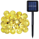 WishWorld Outdoor Solar Fairy String Lights Waterproof Globe String Lights 20... - Chickadee Solutions - 1